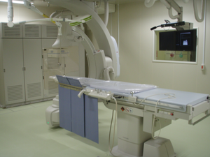 Diagnostic X-ray angiography system (Infinix Celeve-i INFX-8000C, Toshiba Medical Systems)