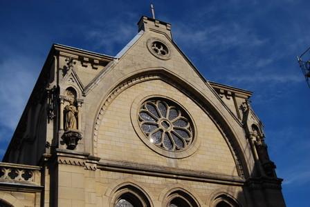 La facade de la chapelle
