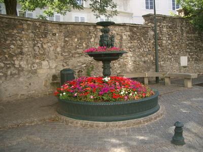 """La Fontaine dite """" Fontaine de Maurepas"""""""
