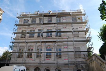 """L'immeuble dit """"Chateau de Thiais"""""""