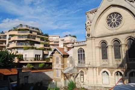 La chapelle et la rue Maurepas