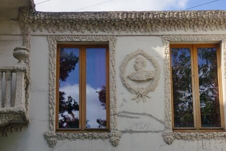 Décoration sur le coté de la maison, napoléon3