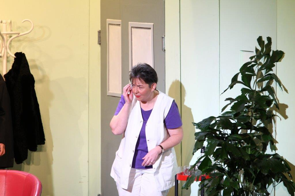 Felicitas Köbeli, Pflegerin
