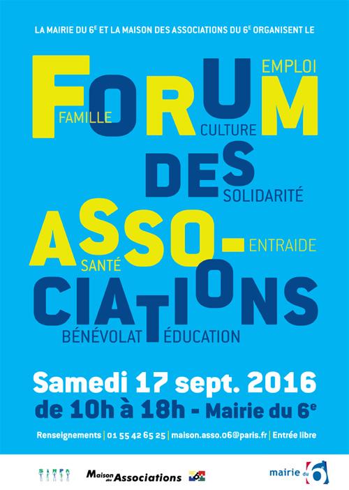 Forum des Associations du 6ème