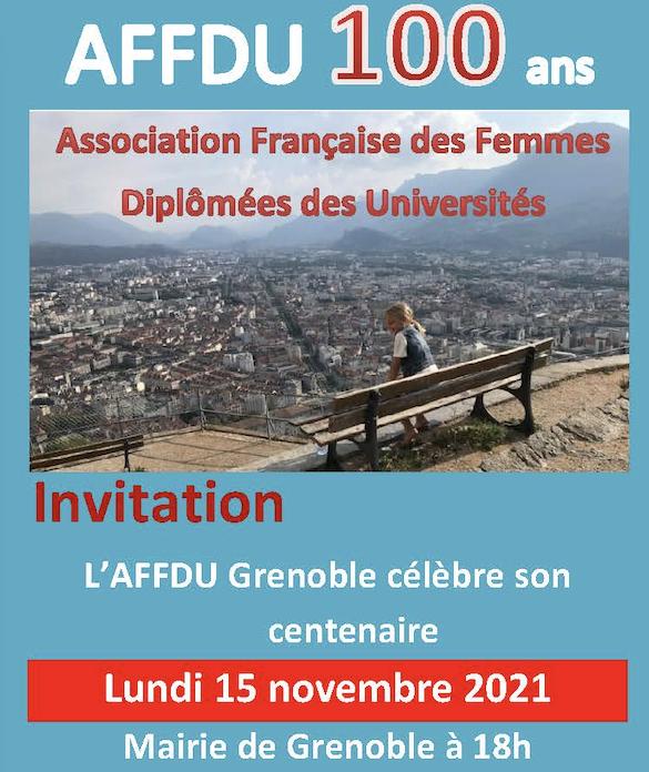 Le centenaire a aussi lieu à Grenoble