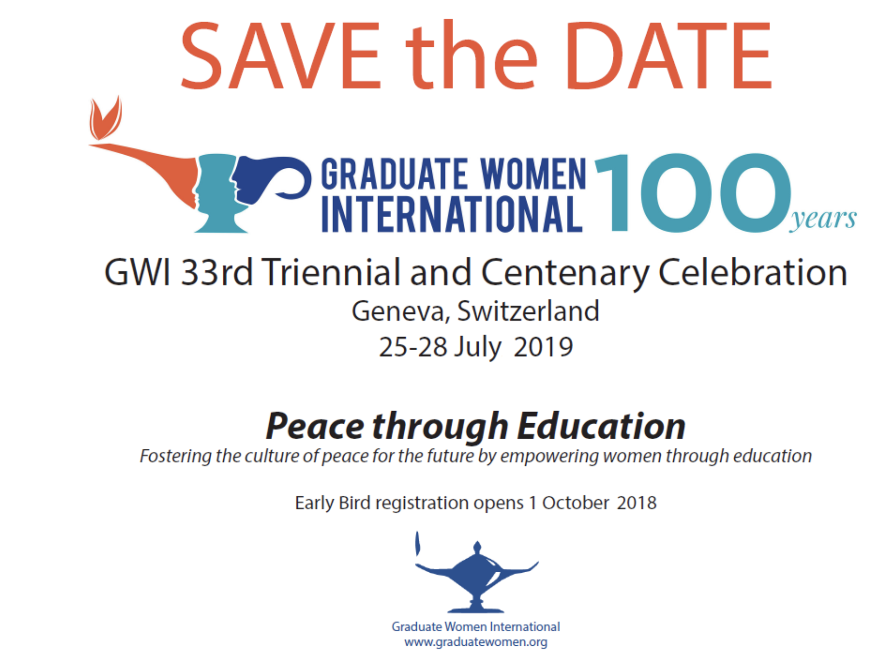 Appel à Projets pour le centenaire de GWI