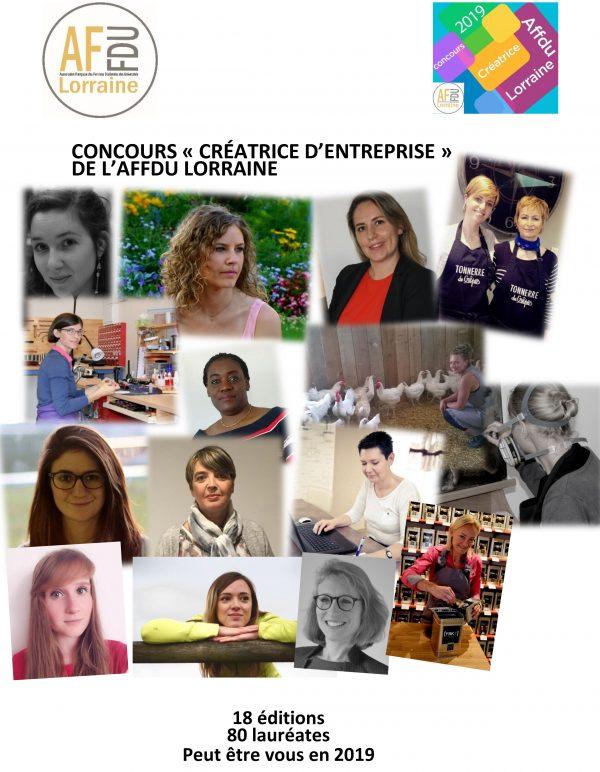 AFFDU Lorraine 19ème concours des créatrices d'entreprise
