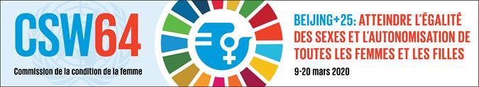 À propos de la Réunion pour la 64ème session de la Condition de la Femme DGCS