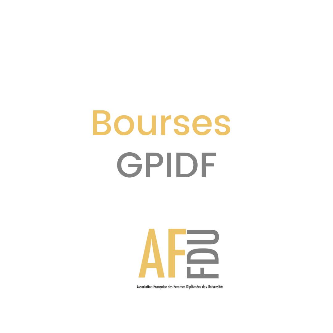 Appel à candidature: Bourse de l'Association française des femmes diplômées des universités (AFFDU) -  Groupe Paris Ile de France (GPIDF) 2021