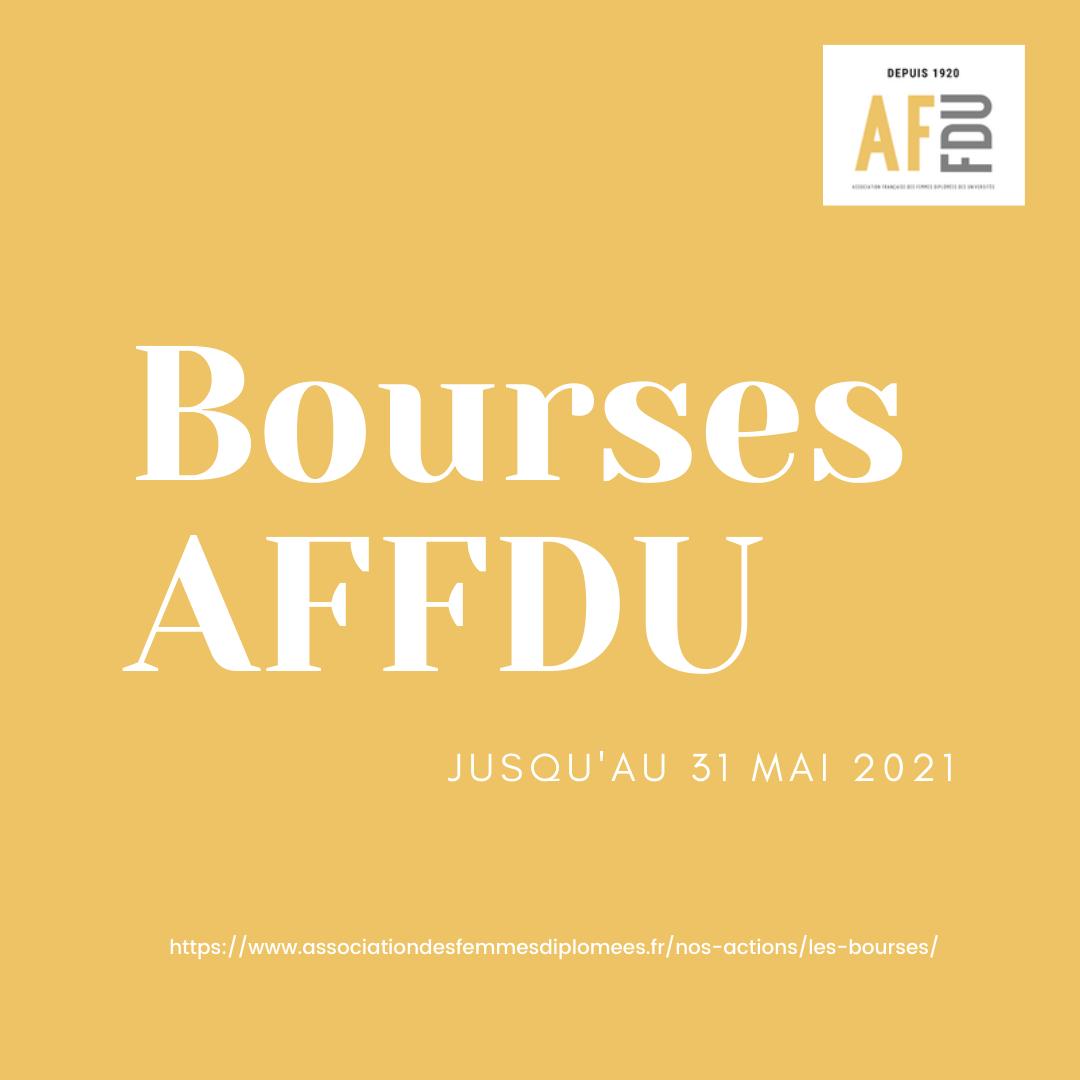 Bourses AFFDU