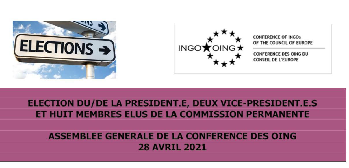 Nous soutenons Anne Nègre pour la Présidence de la Conférence des ONG au Conseil de l'Europe