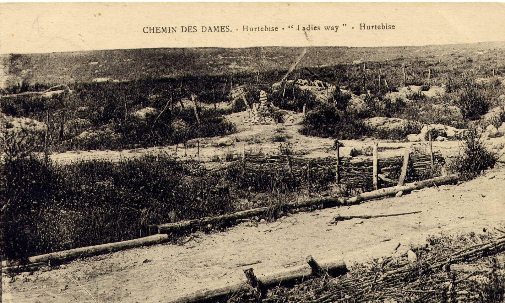 Chemin des Dames - Hurtebise