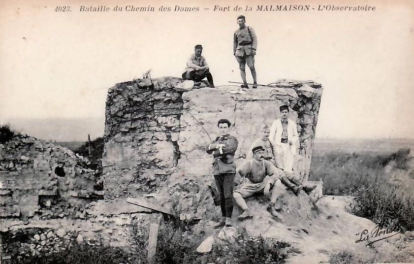 Fort de la Malmaison - L'observatoire