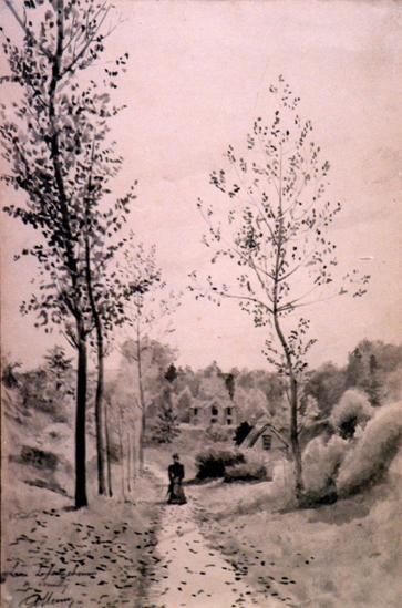 Laon - Vieux Chemin de Leuilly - 1898