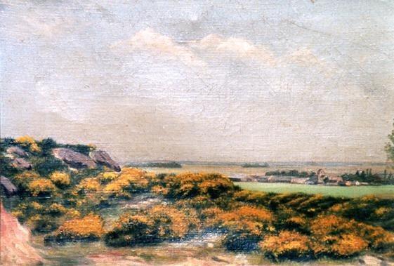 Laon - Vue sur Leuilly - 1904