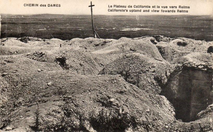 Le Plateau de Californie et la vue sur Reims