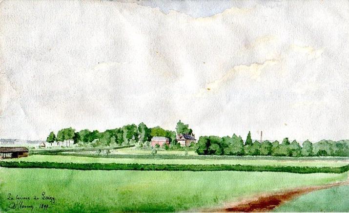 Laon - La Ferme de Loisy - 1899