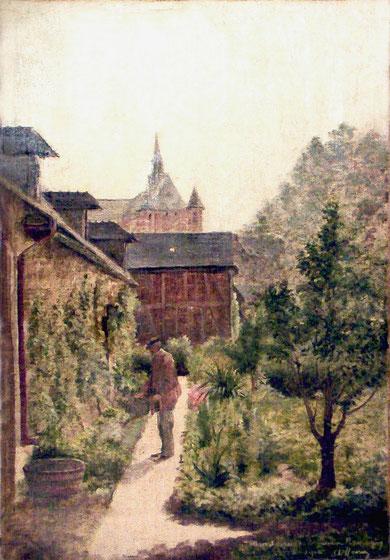 Le jardin Romagny
