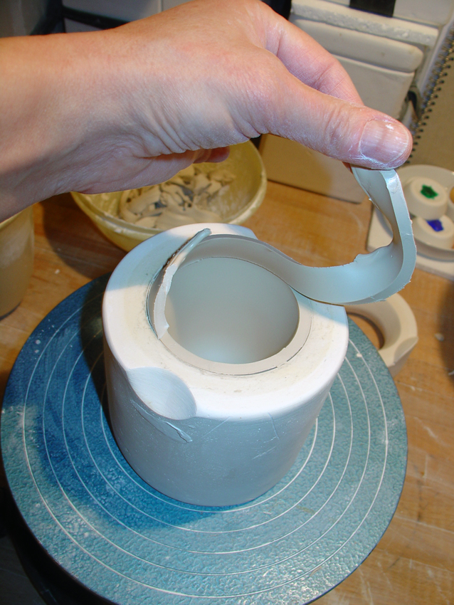 Porzellan schneiden