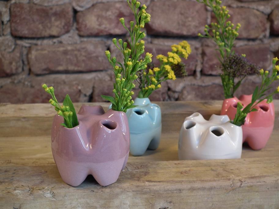 save 5 Vase vieolett