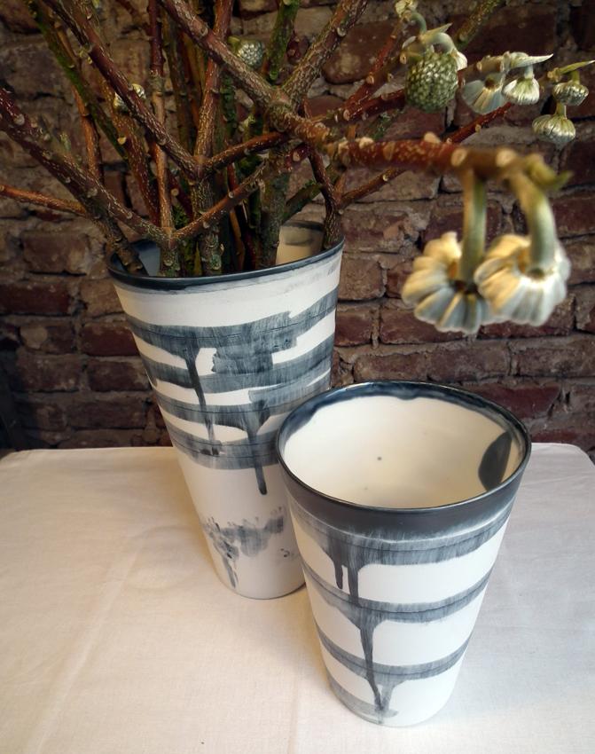 Große Vase Einzelstück