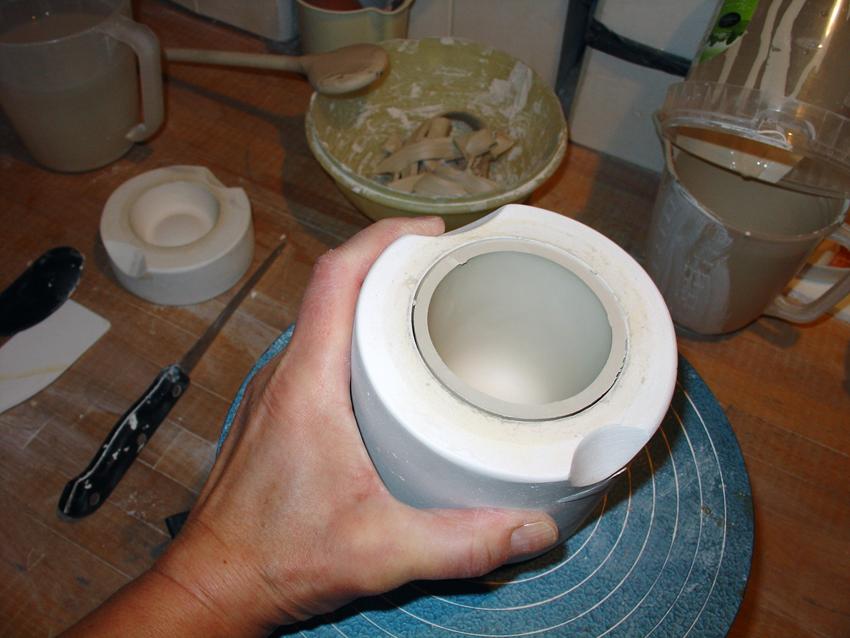 Porzellanherstellung