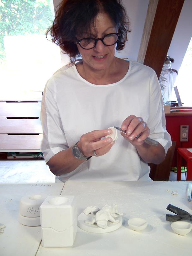 Herstellung von Porzellan