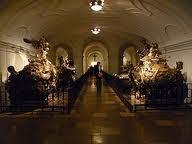 149 Habsburg coffins