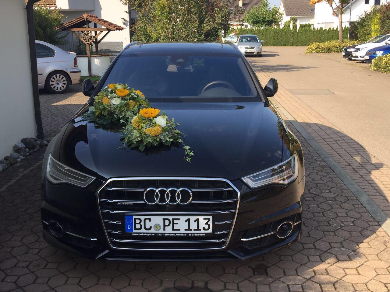 Auch als Hochzeitsauto ein Blickfang