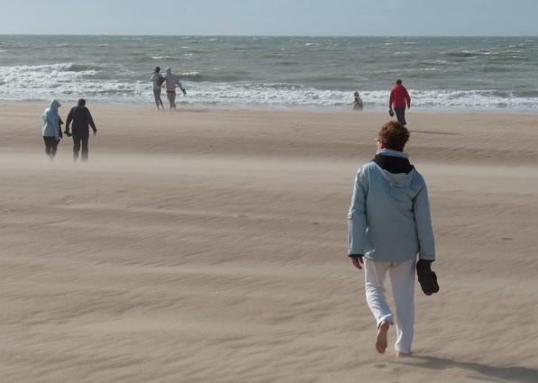 La mer, le vent, le sable, le soleil ...