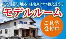 新築住宅モデルルーム公開中