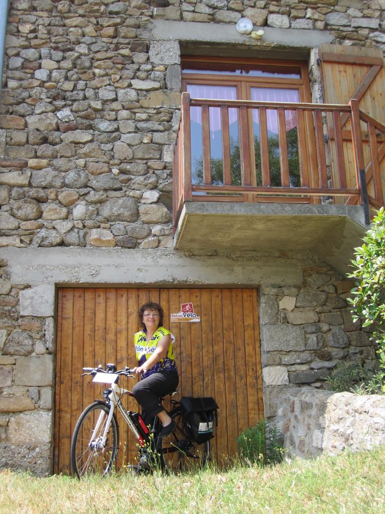 Notre éco-gîte est Relais Vélo (documentation, matériel)