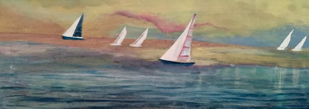 Acryl, 30 x 80 cm , 2019, not available
