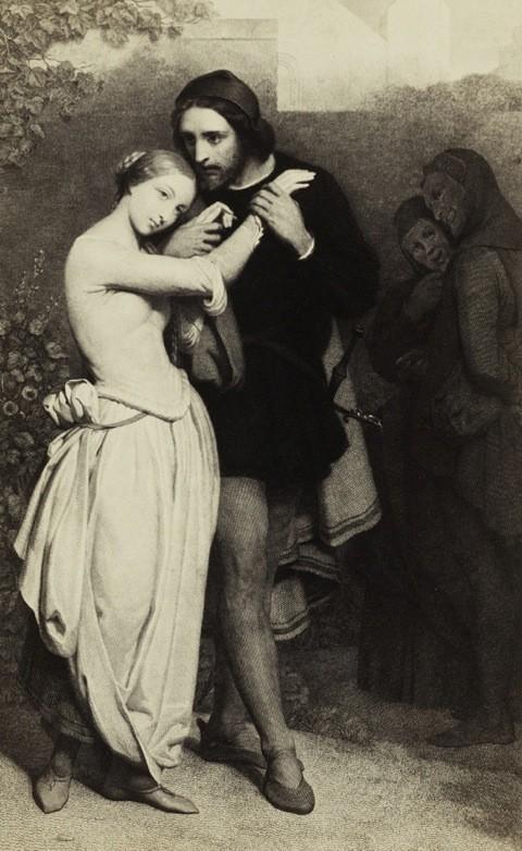 Ary SCHEFFER (1795-1858): Faust et Marguerite