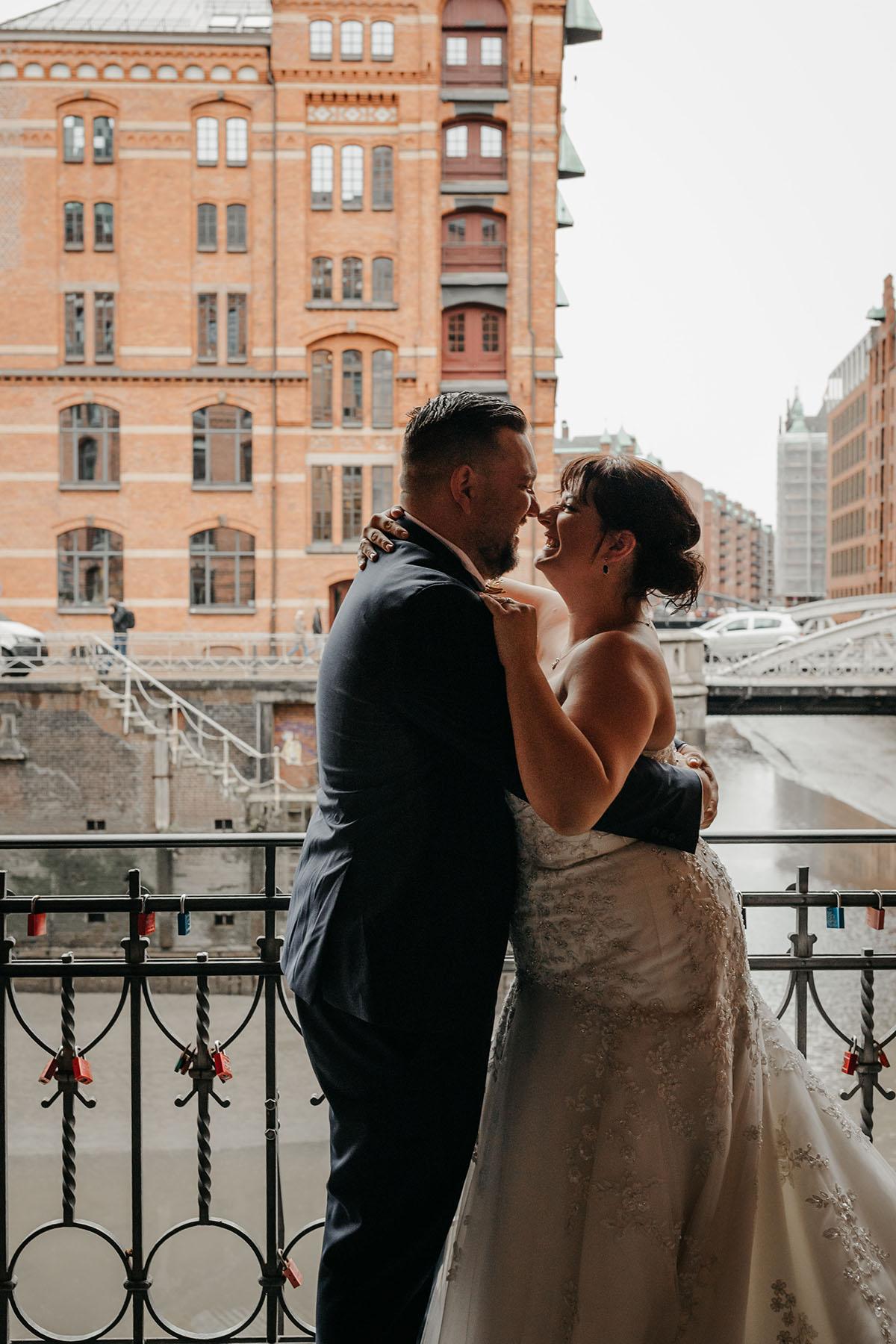 Brautpaar in Hamburg