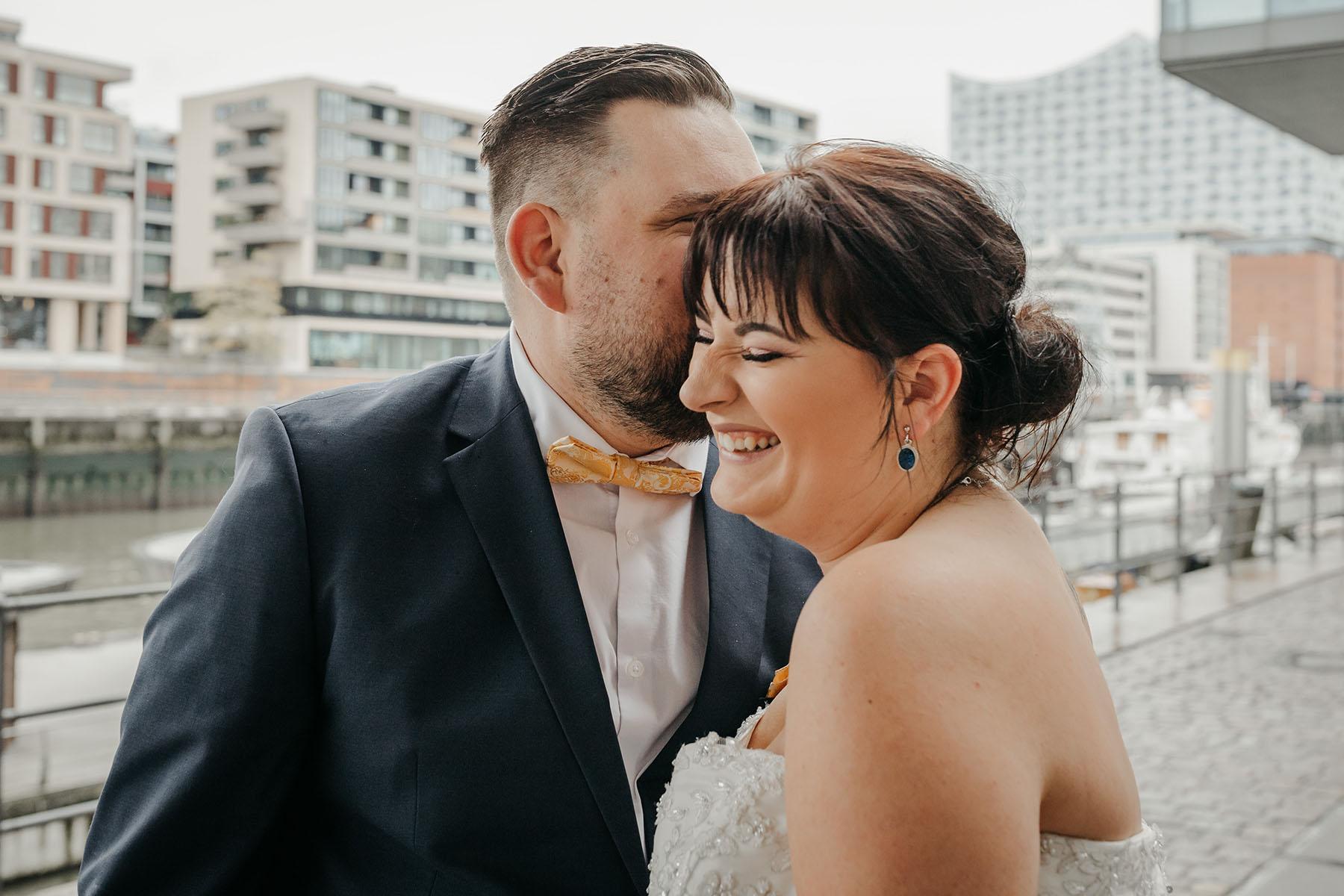 HafenCity Brautpaarfoto