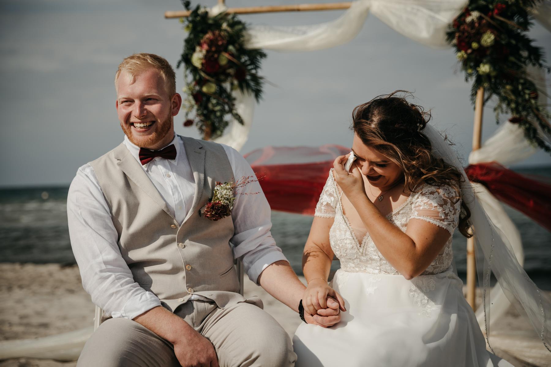Juli Schneegans Fotografie bei Hochzeit am Strand