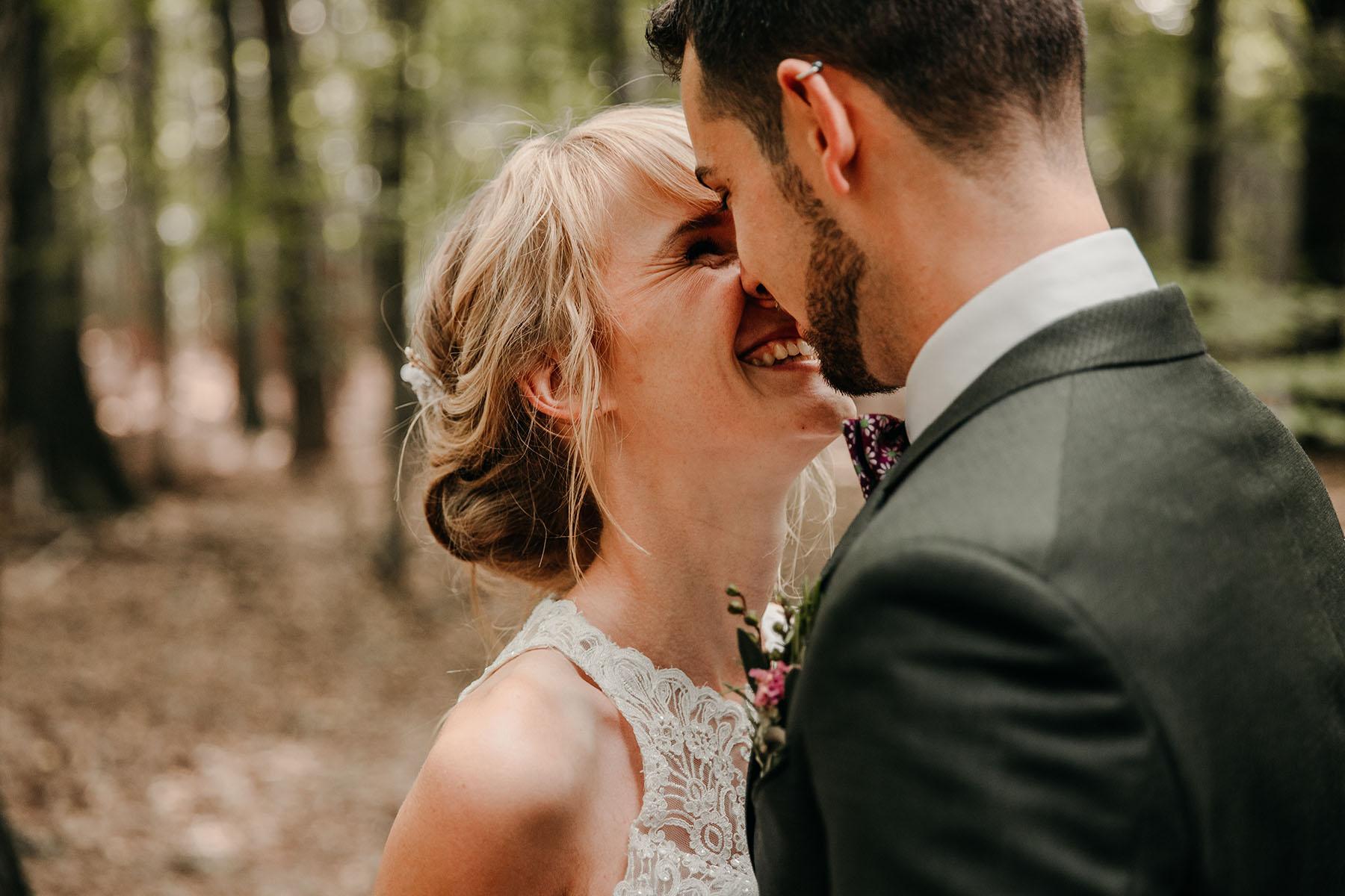 Hochzeitsfotograf Bergedorf im Wald
