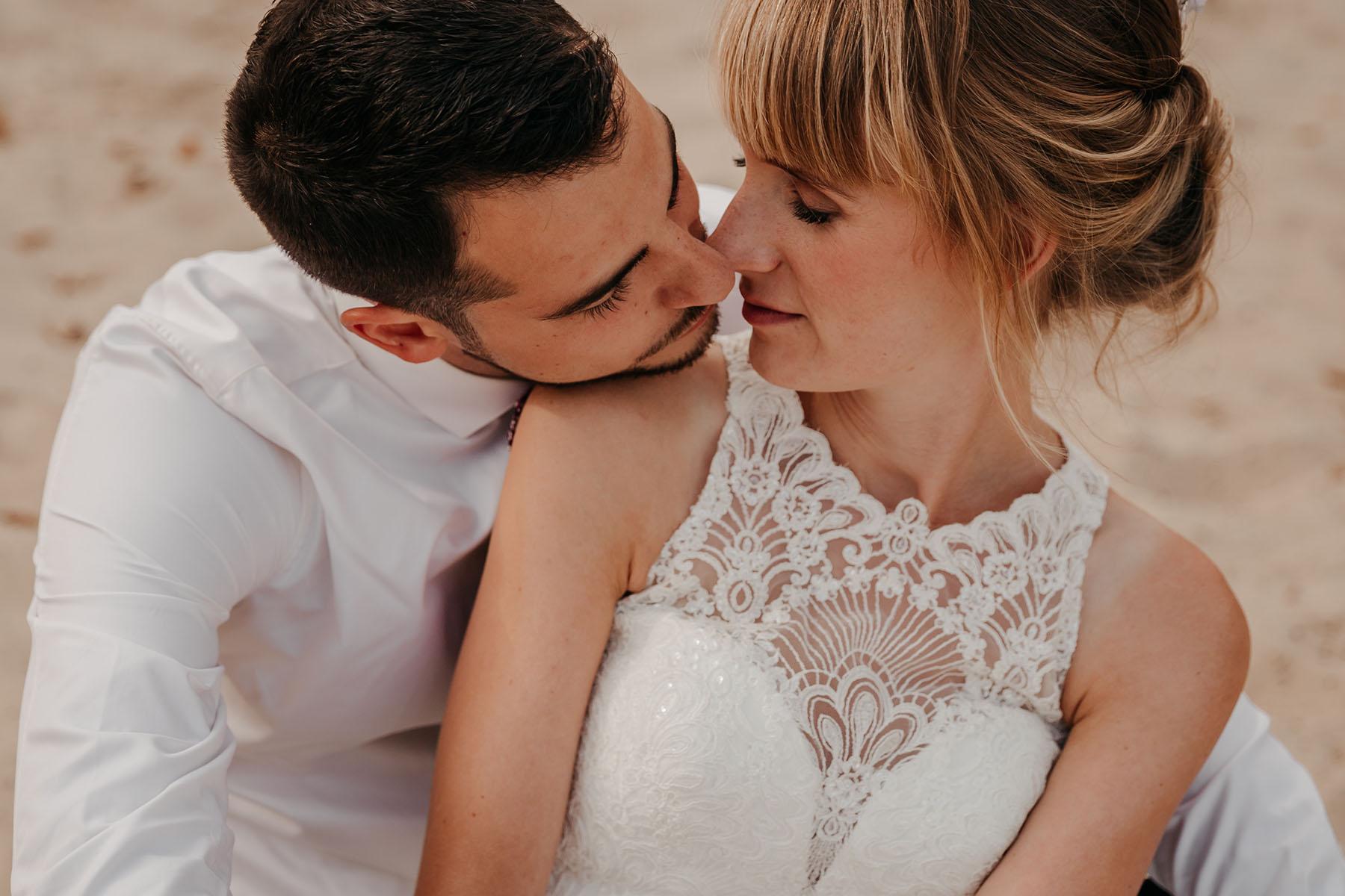 Brautpaarfotos Boberger Dünen