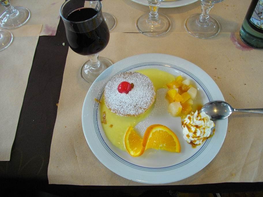 le dessert.............