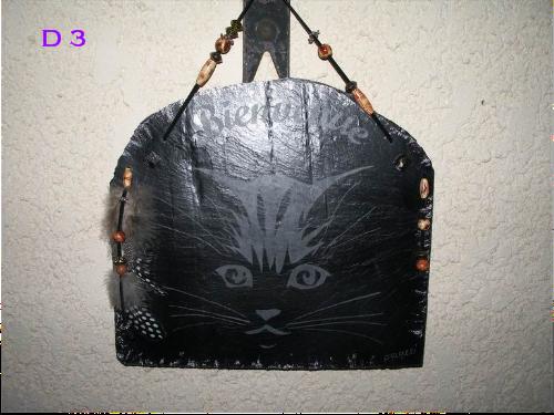 D3       Tête de chat      25 x 23  cm