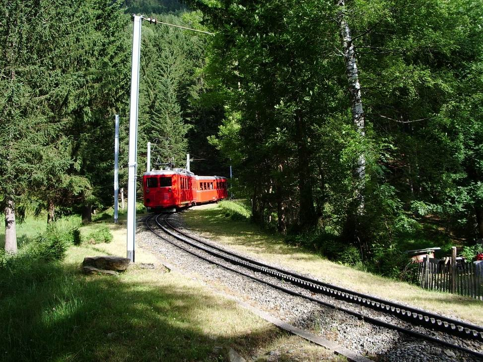 Le petit train qui redescendait sans nous........