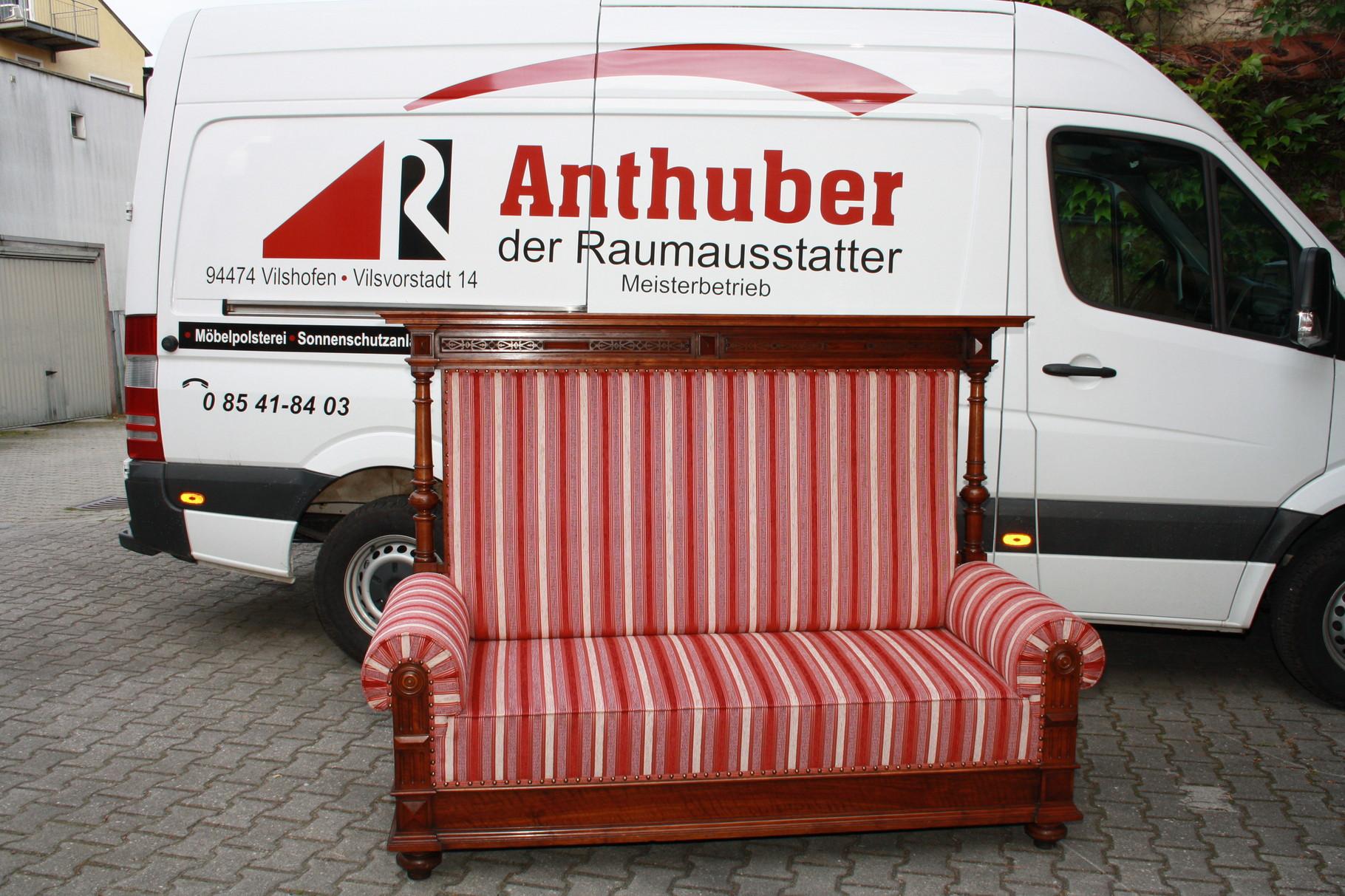Raumausstatter  Polstern & Bodenlegen - Anthuber Polsterei - Raumausstattung