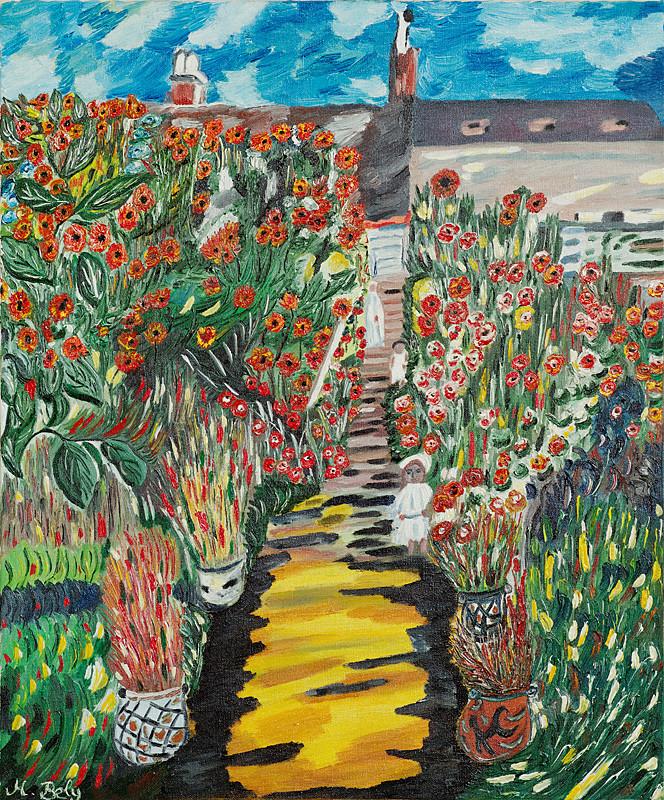 """""""Claude Monet"""" 46x55 Huile sur toile"""