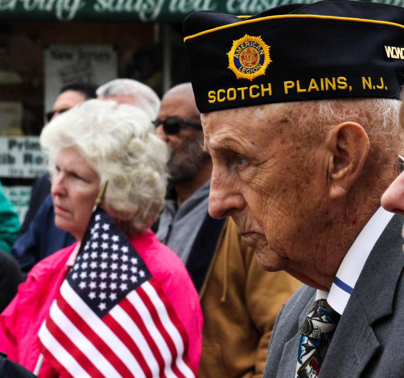 Veterans are often the first to respond and volunteer in our community