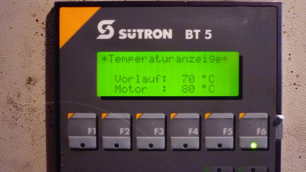 BHKW Temperatur