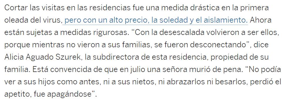 Alicia Szurek Directora Residencia Mayores Concesol