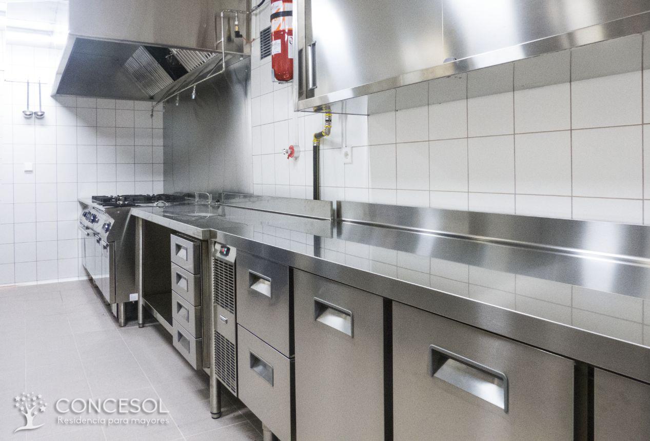 Instalaciones con cocina propia totalmente equipada