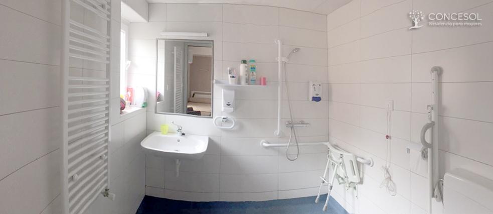 Vistas de ejemplo del aseo en las habitaciones