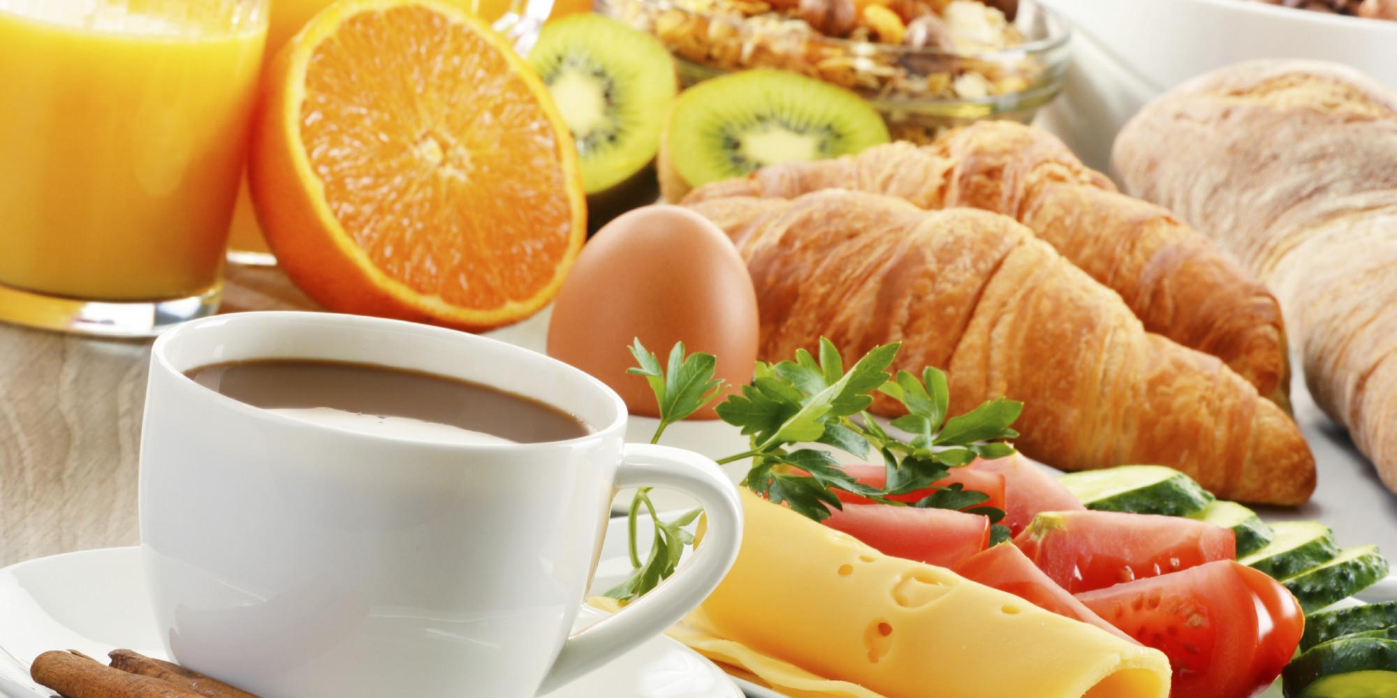 Desayuno variado y natural
